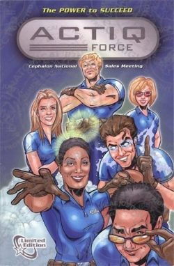 ACTIQ Force Comic Book