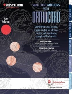 Small Joint Anchors with Orthocord Brochure