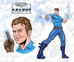 ACTIQ Force Comic Book Sequence - Energy