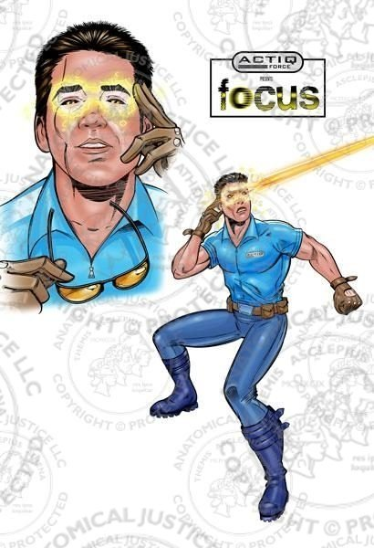 ACTIQ Force Comic Book Sequence - Focus