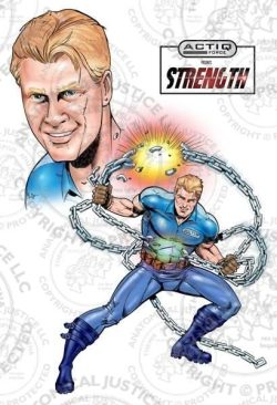 ACTIQ Force Comic Book Sequence - Strength