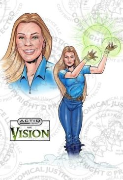 ACTIQ Force Comic Book Sequence - Vision